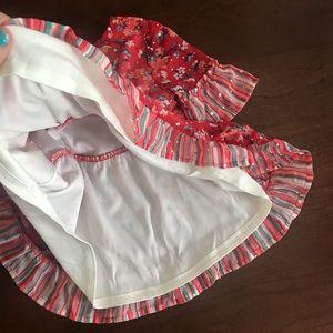 Little Lass Matching Sets - Little Lass Flower Top & Jeans